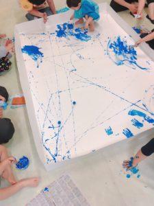 5/30 kidsアート babyクラス開催しました