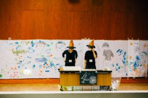kids100人アート 開催報告! 北海道新聞掲載